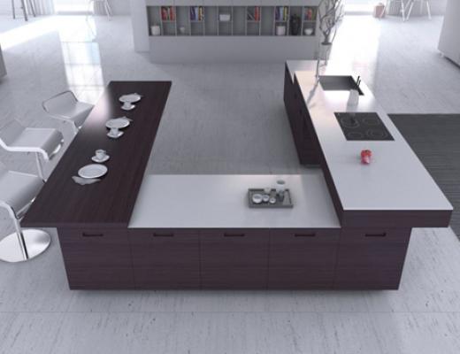 La decoración minimalista en la cocina
